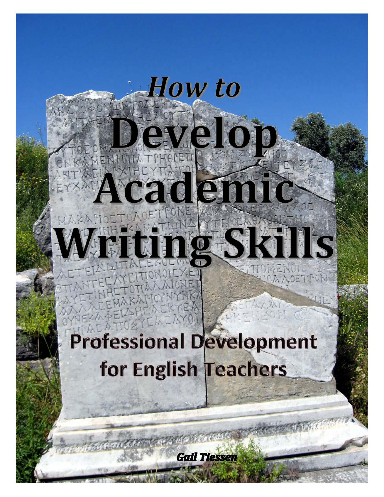 How to Develop Academic Writing Skills Cover